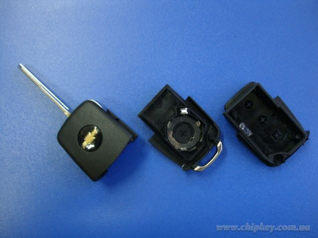CHEVROLET AVEO LACETTI выкидной ключ (корпус) 3 - кнопки (Артикул