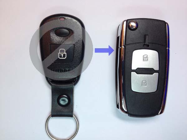 выкидной ключ hyundai elantra