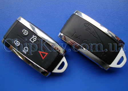 Ключ Jaguar XF XF-R XK XKR 07-13 C2P17156 Smart Key Less, id46(pcf7945), 434 Mhz, Original OEM