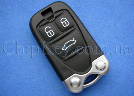 Ключ Alfa Romeo Smart Key (корпус) 3 кнопки